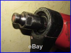 HILTI DD110-D Diamond core drill 110v in case dd110 with 1/2 bsp adaptor