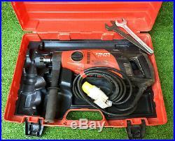 HILTI DD 110-D 110v 1600W 2 SPEED HAND HELD 162mm DRY DIAMOND CORE DRILL REF8143