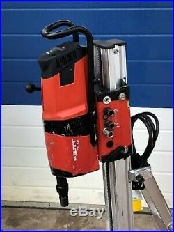HILTI DD 200 110v 2600W 25mm-400mm DIAMOND CORE DRILLING RIG with VACUUM BASE