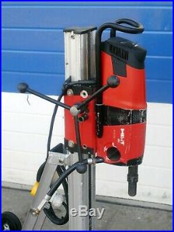 HILTI DD 200 110v 2600W 3 SPEED 25-400mm DIAMOND CORE DRILLING RIG & VACUUM BASE
