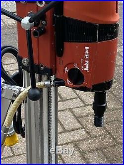 HILTI DD 200 110v 2600W 3 SPEED 25mm-400mm DIAMOND CORE DRILLING RIG
