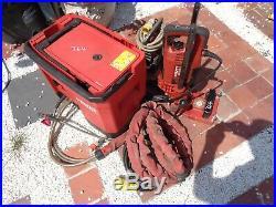 HILTI DD EC-1 Diamond Core DRILL Drilling RIG DD-REC1 Water Recycling AND PUMP