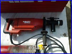 Hilti DD100 Diamond Core Drill 110v & Storage Box core drill 122mm