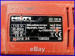 Hilti DD100 Diamond Coring Drill, 110V