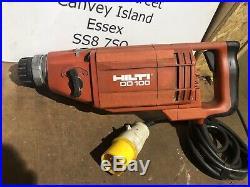 Hilti DD100 Diamond core drill, 110v, diamond drilling