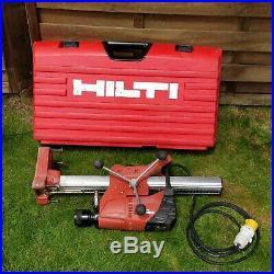 Hilti DD120 Diamond Core Drill With Stand and Case 110v. GWO. FREE P&P!'77218