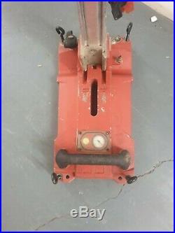 Hilti DD150U DIAMOND CORE DRILL & DRILLING STAND 110V (Vat)