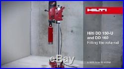 Hilti DD160E Diamond Core Drill Rig