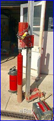 Hilti DD160E Diamond Core Drill Set inc. Hilti Vacuum Pump, Water Bottle & Cores