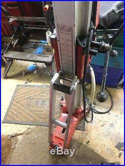 Hilti DD200 Diamond Core Drill + Drilling Rig 35mm-400mm. 110V. 2106