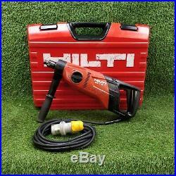 Hilti DD 110 D Diamond Core Drill 110v. GWO. VAT INC FREE P&P'2302