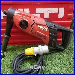 Hilti DD 110 D Diamond Core Drill 110v with Carry Case. GWO. FREE P&P'2247