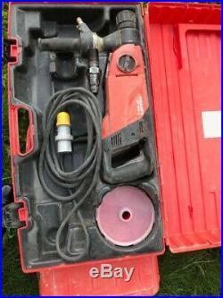 Hilti DD 150-U Diamond Core Drill Wet Coring Drilling 110V With Case 2017