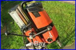 Hilti DD 200 110v Diamond Core Drilling Rig C/w Vacuum Pump And Vacuum Base