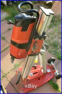 Hilti DD 200 Diamond Core Drill + Hd 30 Drill Rig Stand