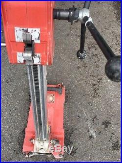 Hilti DD ST 150-U Diamond Drilling Rig Core Wet Drill Stand. 2175