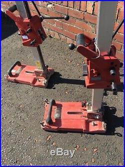 Hilti DD ST 150-U Diamond Drilling Rig Core Wet Drill Stand. 2198n