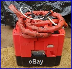 Hilti DD rec1 Water recycling unit pump diamond core drill drilling rig 110v 2