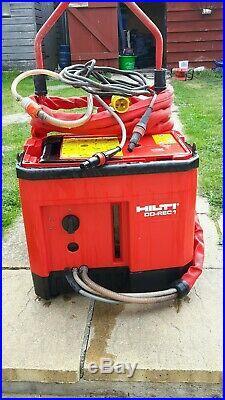 Hilti DD rec1 Water recycling unit pump for diamond core drill rig