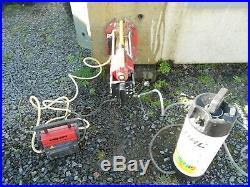 Hilti Dcm1 Diamond Core Drilling Rig C/w Hilti Vacuum Pump & Stihl Water Bottle