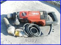 Hilti Dd130 Wet & Dry Diamond Core Drill 110v 1700w 3 Speed Diamond Drilling