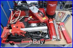 Hilti Diamond Drill DD 120, Drilling Kit, Vacuum Base, Water Feed and Core Bits