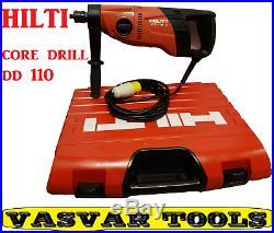 Hilti core drill /DD110-D Diamond CORE Drill 110V | Diamond