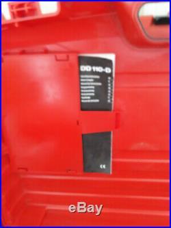 Hilti core drill /DD110-D Diamond CORE Drill 110V