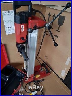 Hilti dd 130 core drill with rig. Hilti diamond drilling core drill dd130