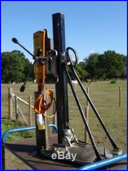 Hydrostress Weka HCCB 23 Diamond Core Drill Drilling Rig 110v & Stand