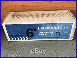 Lackmond 6-Inch Wet Cured Concrete Diamond Core Drill Segmented Bit 1-1/4-7