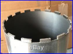 Lackmond 7-Inch Wet Cured Concrete Diamond Core Drill Segmented Bit 1-1/4-7