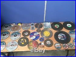 Large Quantity Of Diamond Core Drills Hole Saws & Cutting & Grinding Disks