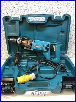 Makita 8406C 13mm Diamond Core and Hammer Drill 110V
