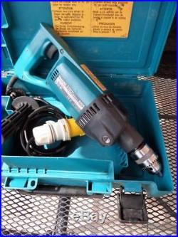 Makita 8406 110v Diamond Core Percussion Drill Nice Clean Tool Free P&P