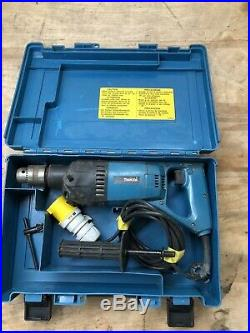 Makita 8406 13mm Diamond Core & Hammer Drill 850w With Carry Case 110V