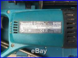 Makita 8406 Diamond Core Drill 110v In Box With 4 Core Bits
