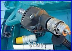 Makita 8406 Diamond Core Drill / Hammer Drill 110v Light Use Excellent