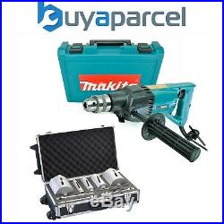 Makita 8406 Diamond Core Drill Rotary Percussion 110V + 10 Piece Core Set + Case