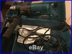 Makita 8406 Diamond core drill 13mm keyed chuck, 240 Volt