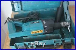 Makita 8406 diamond core drill 110v with 38mm core bit