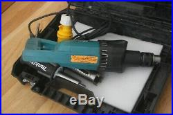 Makita 8406 diamond core drill 110v with a 38mm core bit