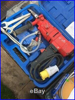 Marcrist DDM3 Heavy Duty Diamond Core Drill Faulty Working Wet Dry Drill 110v