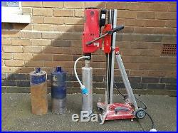 Marcrist DDM4 core drill and Marcrist DS250 rig stand DIAMOND CORE DRILLING