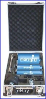 Marcrist PC650 Diamond Core Drill Bit Set 3 Pieces