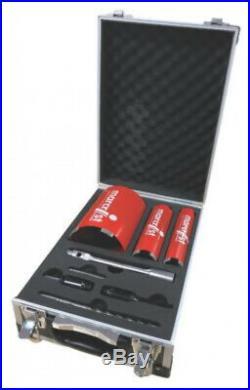 Marcrist Professional Diamond Core Drill Bit Set 8 Pieces