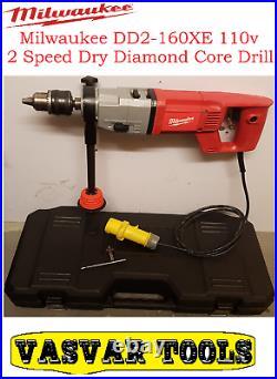 Milwaukee Core Drill / Dry Diamond Core Drill 110v