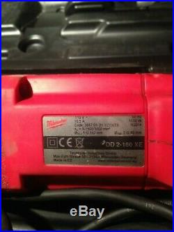 Milwaukee DD2-160XE 110v 2 Speed Dry Diamond Core Drill