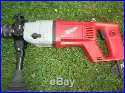 Milwaukee DD 2-160 XE 110v Professional 2 Speed Diamond Core Drill Hammer 162mm