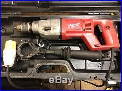 Milwaukee DD 2-160 XE diamond core drill, 110v